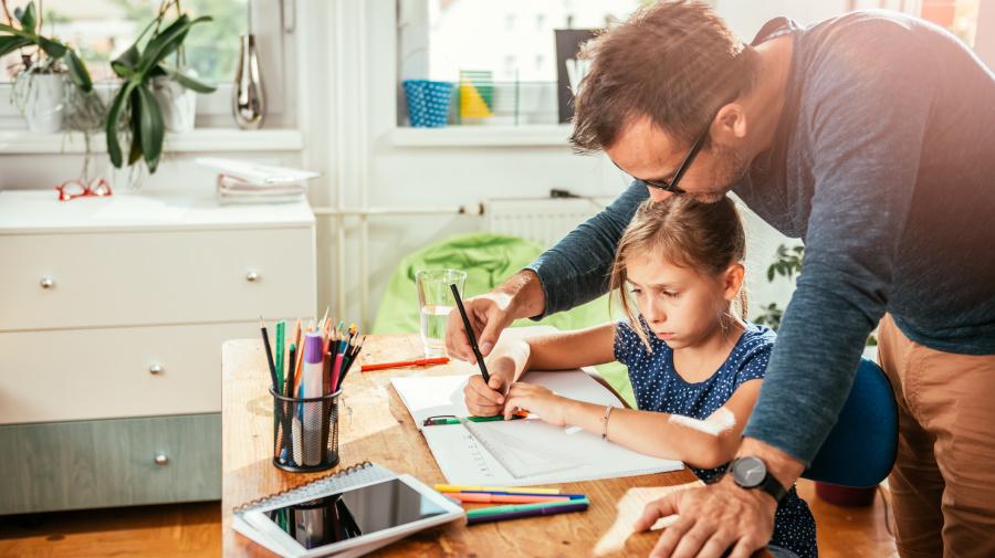 Is children's homework too hard for parents?