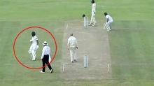 'Never seen that': Bizarre 'cheating' incident stuns cricket world
