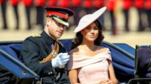 Meghan Markle Breaks Protocol (Again!) with Her Off-the-Shoulder Dress at Trooping the Colour