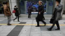Asian Stocks Fall; China Data in Focus