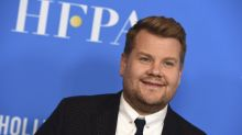 James Corden films 'The Late Late Show' from quarantine after coming into contact with COVID-19
