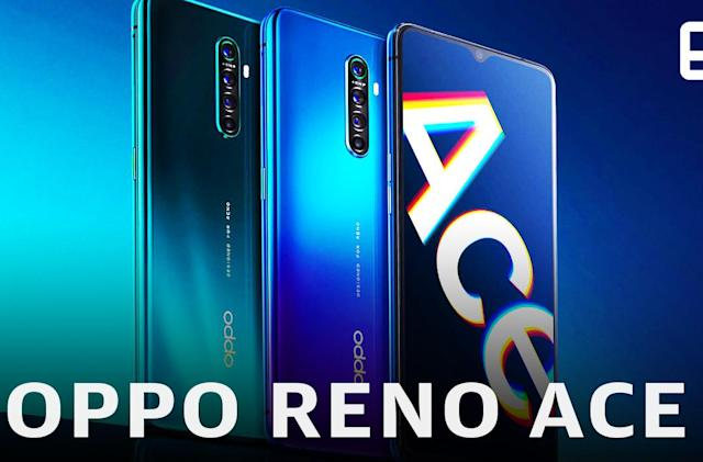 Oppo made a Gundam edition of its fast-charging Reno Ace phone