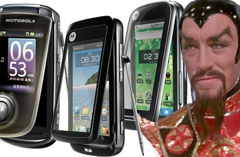Motorola Ming A1680, MT810, and XT806 begin their Android mercy mission in China