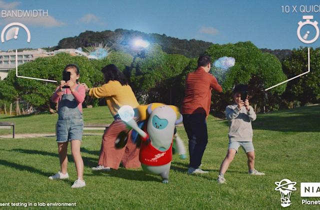 Niantic's new 5G game demo highlights the future of AR gaming