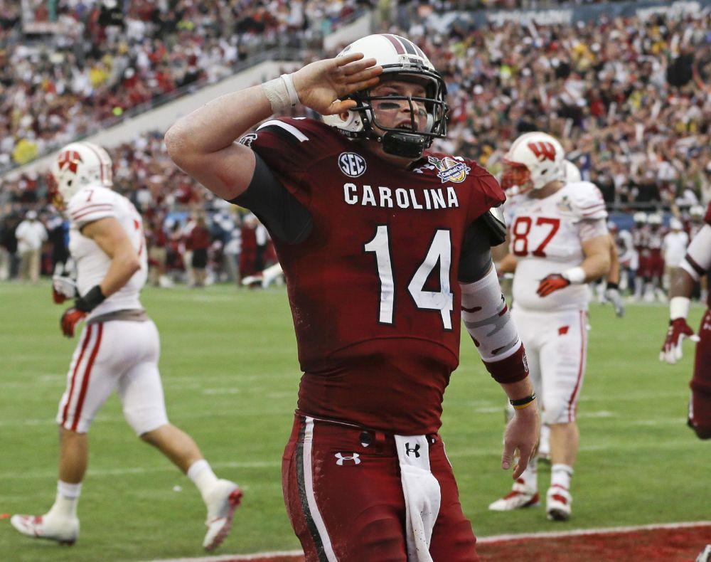 No. 8 S. Carolina too much for No. 19 Badgers