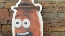 Denny's refuses to dump new sausage mascot