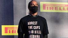 Lewis Hamilton wears Breonna Taylor shirt after winning Tuscan Grand Prix