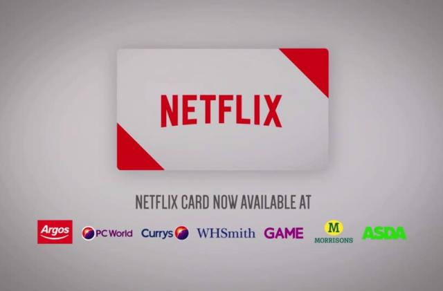 Netflix Card is your pay-as-you-go gateway to binge watching