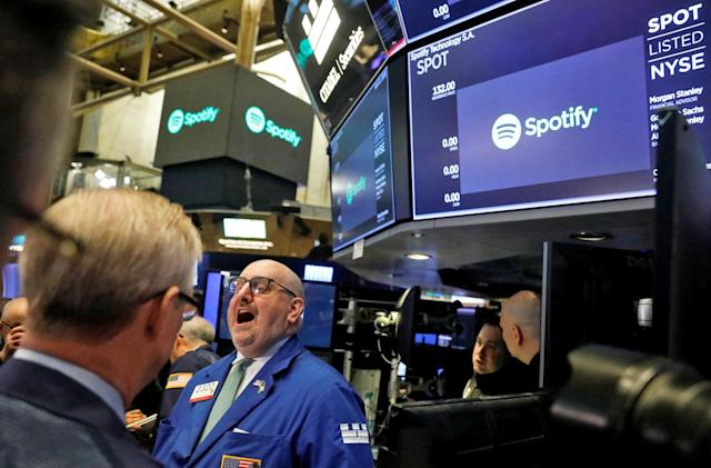 Spotify is now a public company