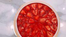 點解香港無得食!!!台灣獨家限定Lady M「草莓香緹千層蛋糕」