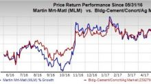 Martin Marietta's Buyout Plans Bode Well, Weather Woes Stay