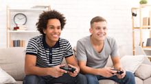 Male college students who play video games may exercise less and snack more