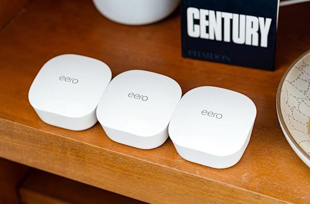 Apple starts selling Amazon's Eero mesh routers