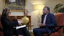 Ben Carson to Katie Couric on stabbing, Syria, and Trump