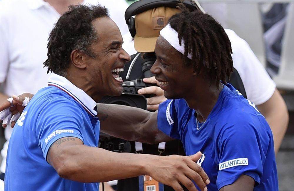 """Coupe Davis: Noah """"ne veut pas forcer les joueurs à venir"""""""