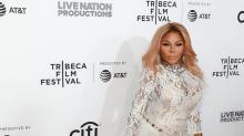 Lil' Kim Is Still Outrageous on the Red Carpet in Bridal-Like Look