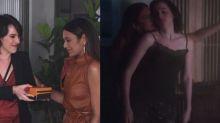 Dira Paes e Manoela Aliperti são elogiadas após romance lésbico em 'As Five'