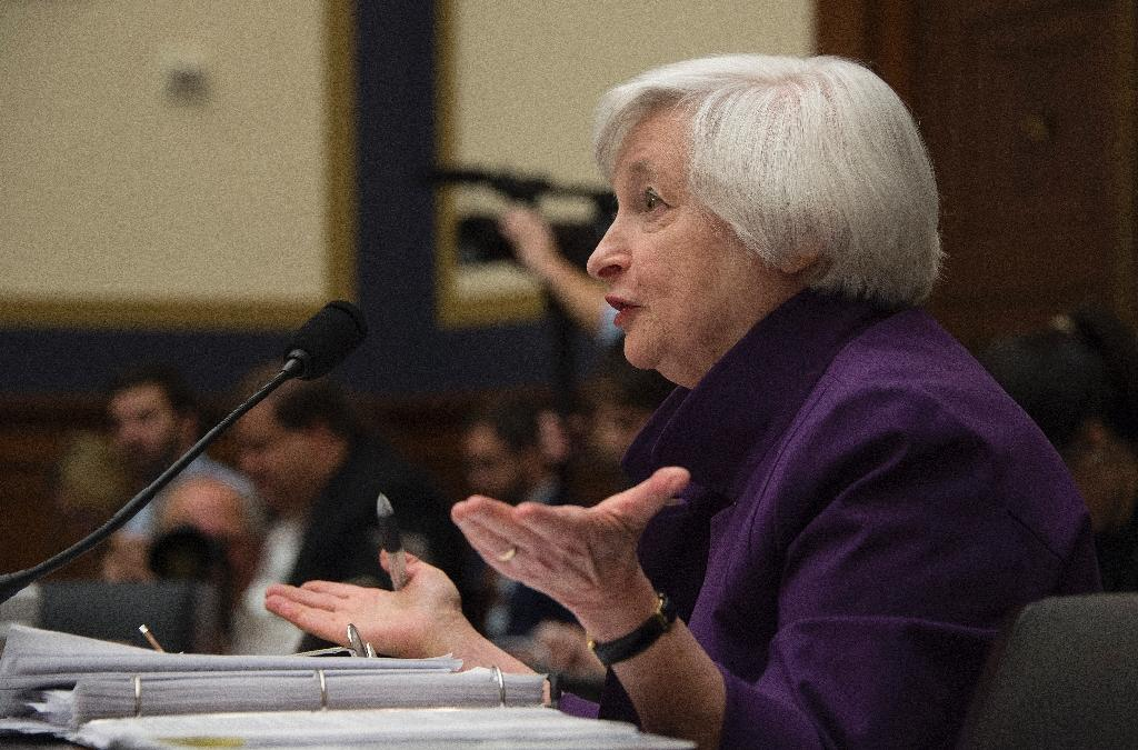 Federal Reserve Chair Janet Yellen, pictured November 4, 2015, said that Americans would have been worse off if the Fed had not taken drastic action to counter the severe financial crisis in 2007 and 2008 and the ensuing recession