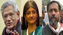 Delhi Police names Sitaram Yechury, Jayati Ghosh in riots chargesheet; Mahua Moitra questions silence on Kapil Mishra