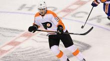 Less than a year since bone cancer diagnosis, Oskar Lindblom returns to the ice in NHL playoffs