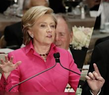 Two presidential candidates walk into a bar. Nobody laughs. The humorless 2016 campaign.