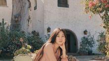 韓國女藝人孔曉振拍代言品牌最新宣傳照