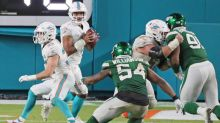 Dolphins offensive lineman Ted Karras excited to line up with Tua on his first series of snaps as a Fin