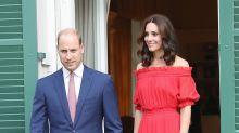 George y Charlotte llegan a Alemania
