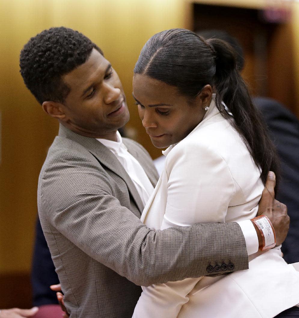 Singer Ushers Son Nearly Drowns, Ex-Wife Seeks Custody Singer Ushers Son Nearly Drowns, Ex-Wife Seeks Custody new photo