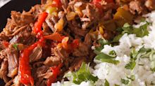 This slow cooker beef brisket only needs two ingredients
