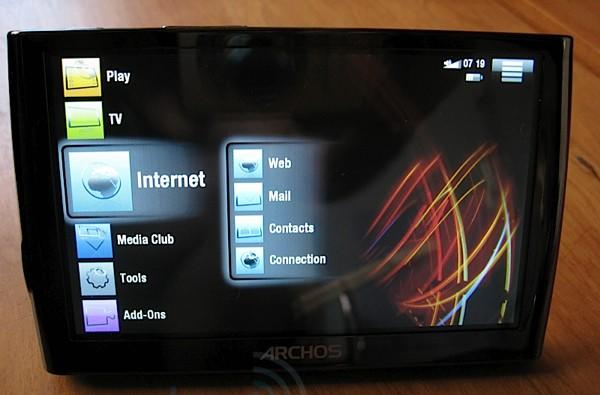 Archos 5 unboxing and hands-on