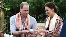 The royals drink their tea sweetened with honey rather than sugar - and add milk last