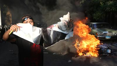 Raw: Clashes, Protests Erupt Across Cairo