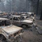California wildfires: Trump repeats criticism of forest management as Queen sends condolences