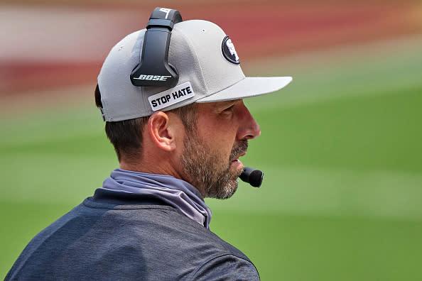Several coaches still aren't wearing their masks