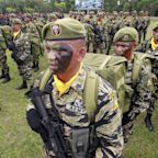 Rodrigo Duterte declares martial rule in southern Philippines 'on the grounds of existence of rebellion'