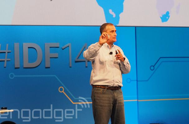 Intel's Edison launches at IDF, and it's still tiny