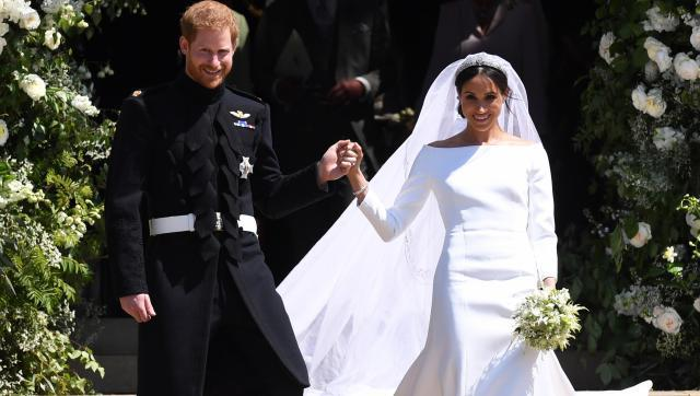 Mariage Du Prince Harry Et Meghan Markle Les Mots Etonnants De Harry Face A La Robe De Meghan Markle Video