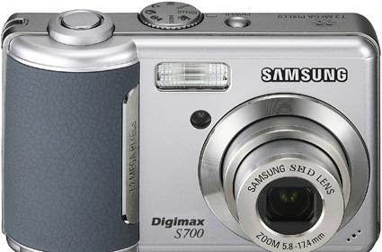 Samsung's new S700 and S1000 cameras
