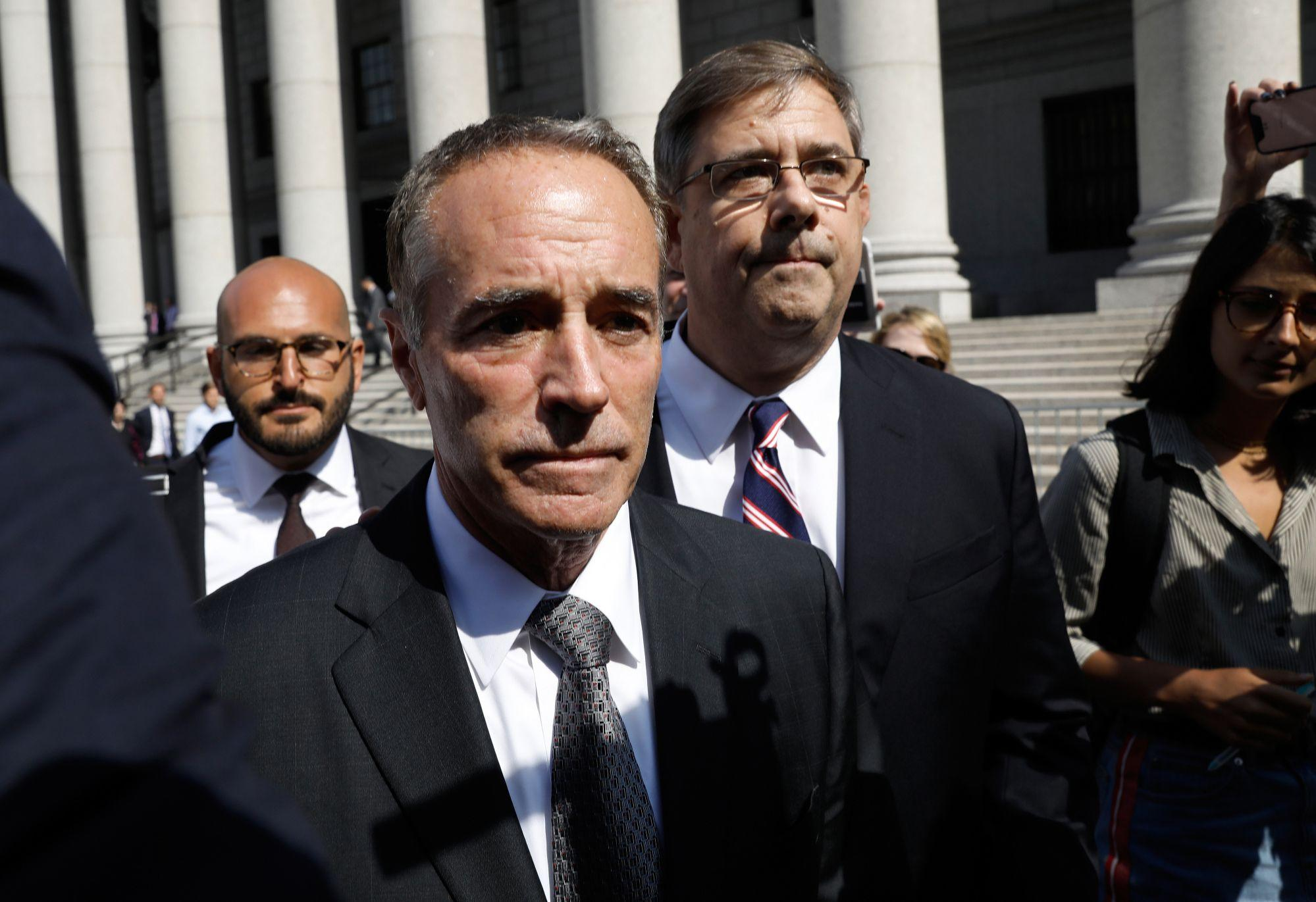Prosecutors seek 5-year prison sentence for Former Rep. Chris Collins
