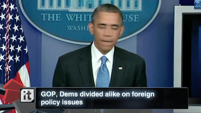 War & Conflict Breaking News: GOP, Dems Divided Alike on Foreign Policy Issues