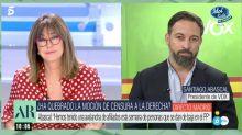 Abascal se queda callado durante varios segundos tras esta pregunta personal de Ana Rosa sobre Casado
