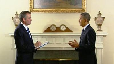 Rob McCartney Talks Jobs With President Obama