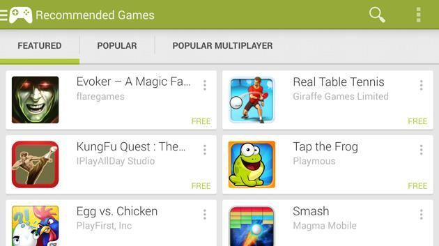 Google Play Games for Android now shows you who wants to play