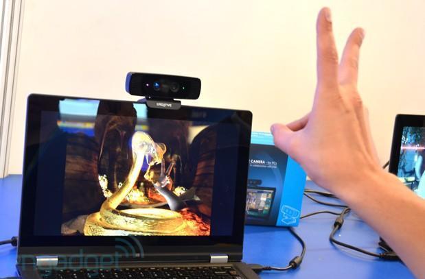 Hands-on redux: Creative's Interactive Gesture Camera at IDF 2013 Beijing (video)