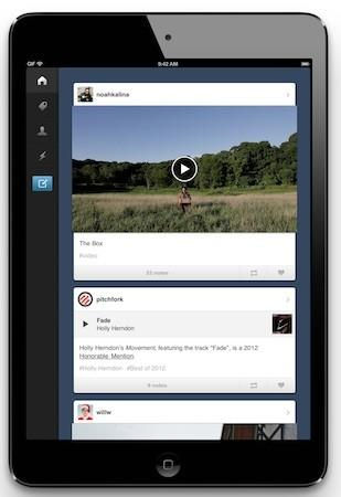 Tumblr updates its app with iPad support and Explore tab, ends day of Android envy