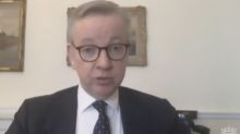 Michael Gove rejects calls for Brexit deal delay because NHS would get less money