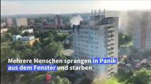 Elf Tote bei Hochhausbrand in Tschechien