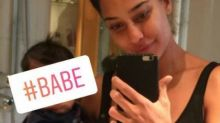 Lisa Haydon gives us a peek at her adorable baby Zack. See pic