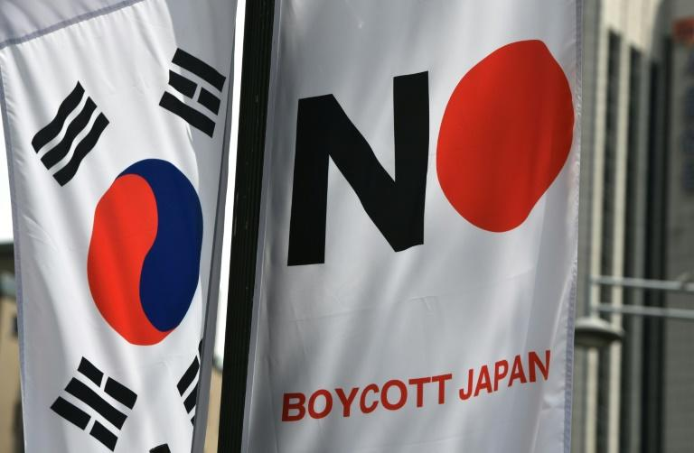 South Koreans have mounted a boycott of Japanese goods since Tokyo revoked Seoul's favoured export partner status